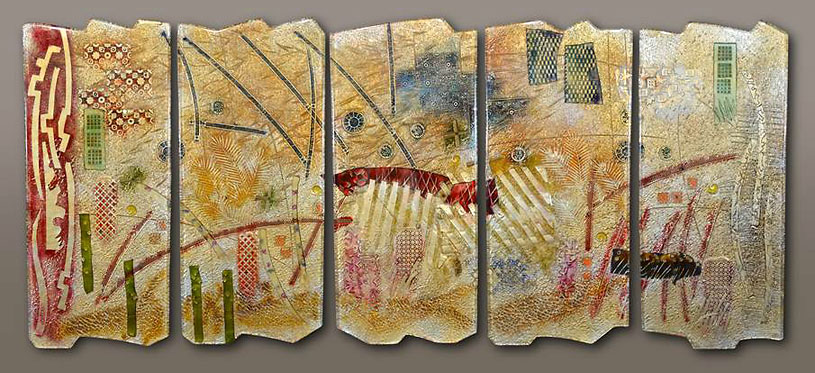 Title: A View of the World, 80in x 36in, 2014