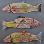 "3 - Fish. 6"" x 24"". Various, available."