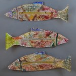 "6 - Fish. 6"" x 24"". Various, available."
