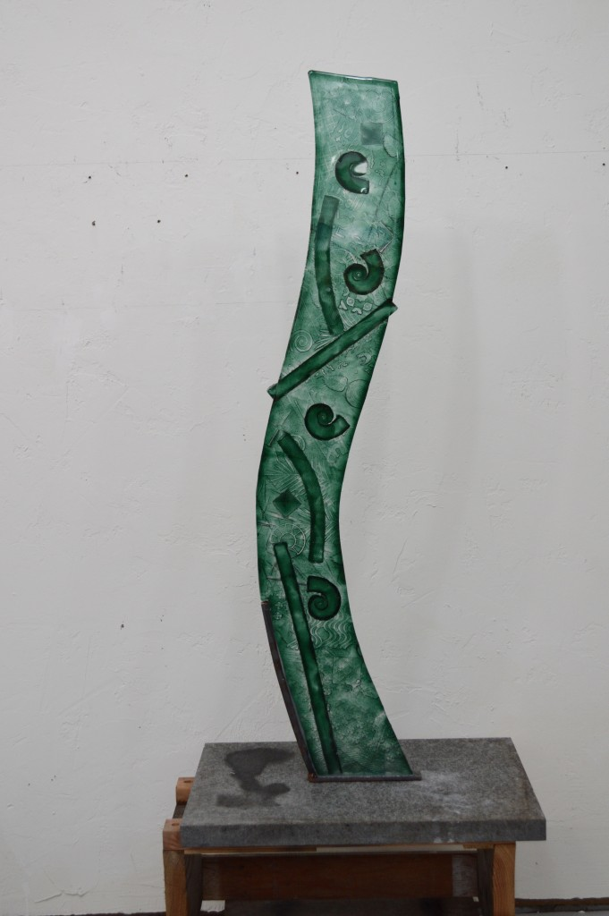 "221 – Green Wave. 54"". Available."